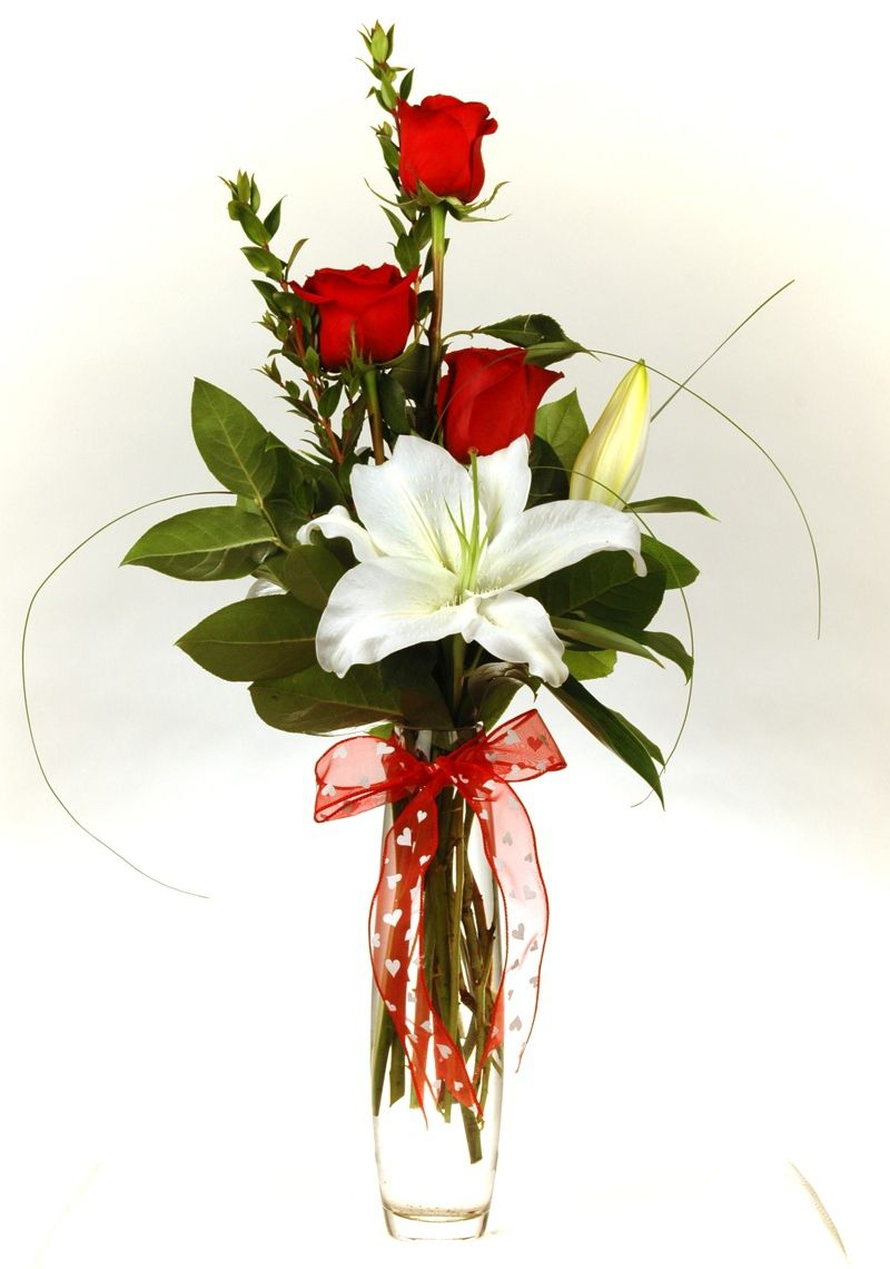 Small Valentines Day Flower Arrangements Roses Gallery