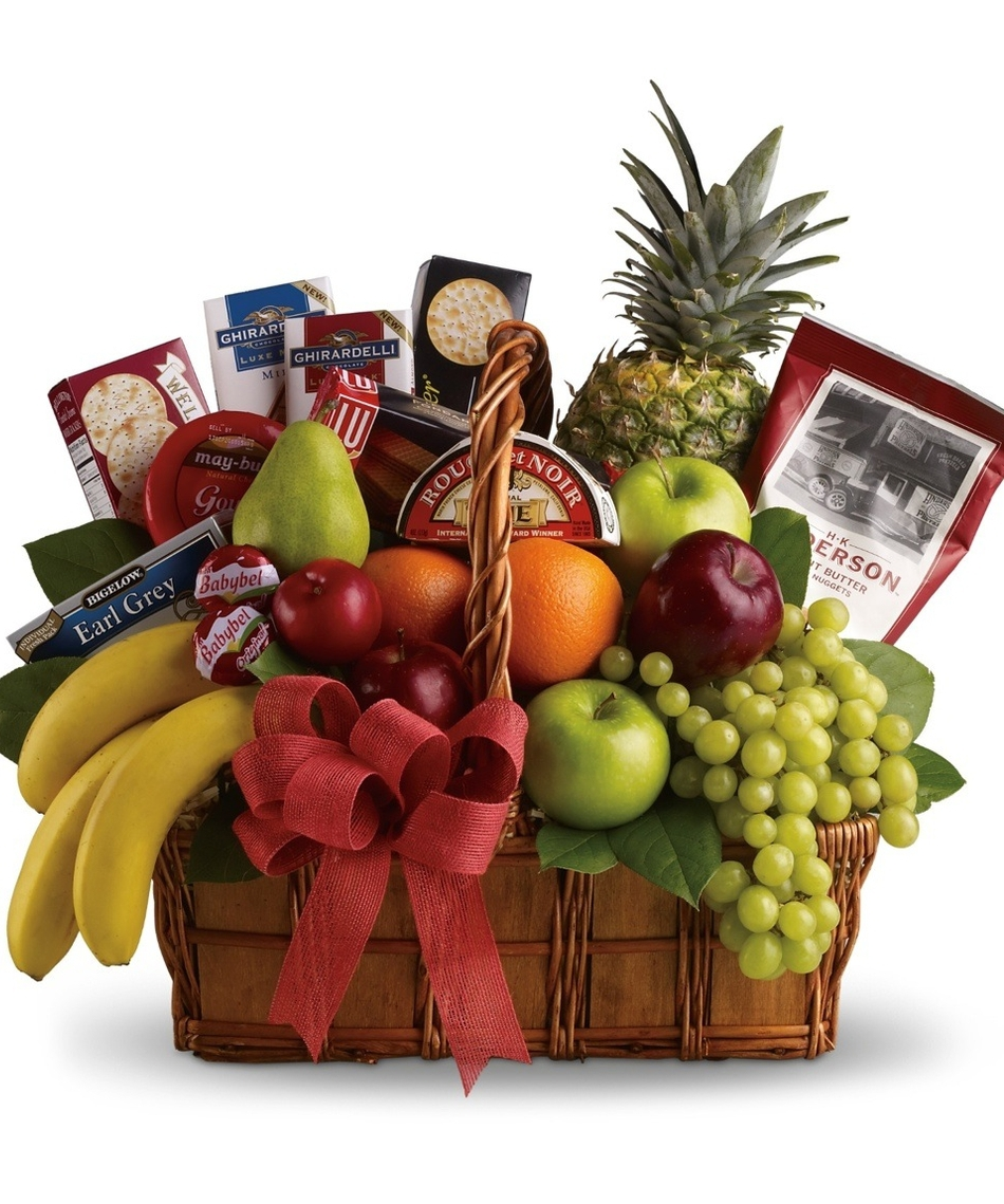 Healthy Food Gift Baskets For Delivery