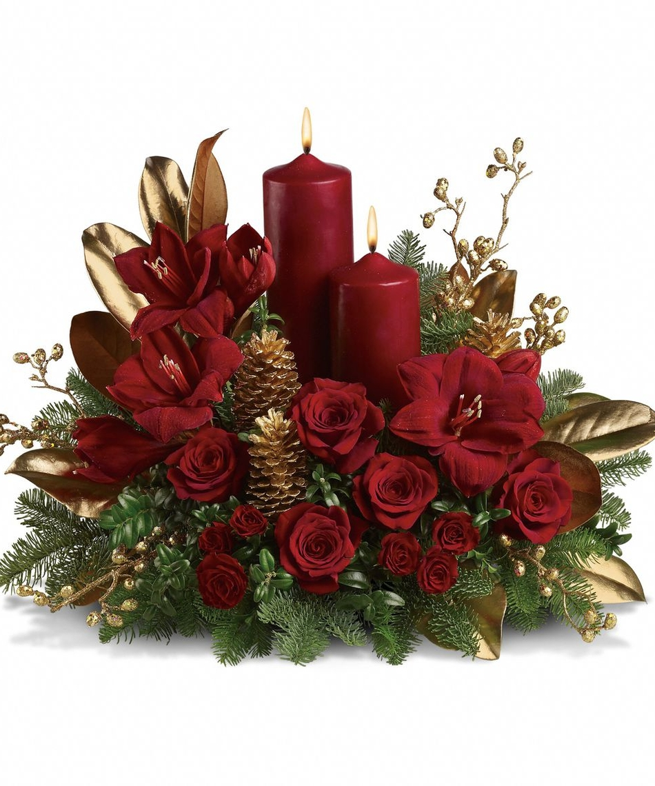 start your holiday shopping with floral décor and christmas, Beautiful flower
