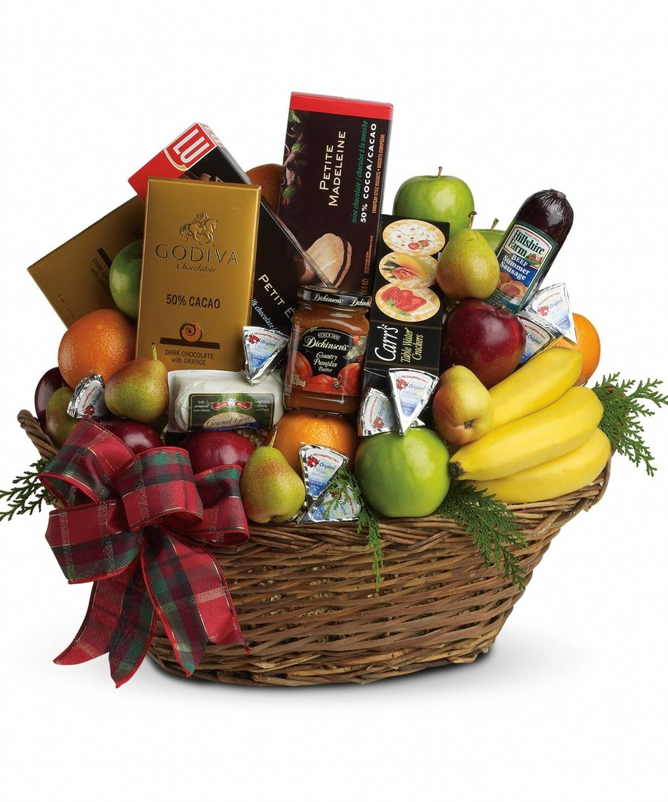 Flower And Gift Baskets For Delivery : Christmas gift delivery san diego